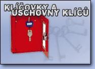 Klíčovky pro úschovu klíčů
