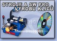 Stroje a sw pro výrobu klíčů